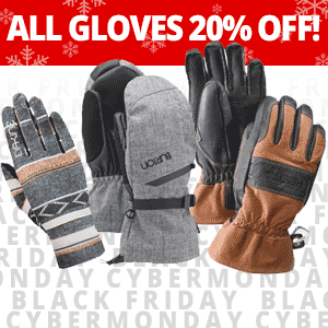 All Gloves on SALE through Monday!