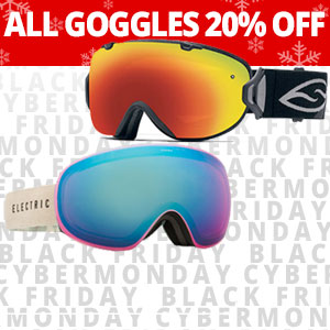 Goggles on SALE through Monday!
