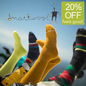 Save 20% on Smartwool Socks!