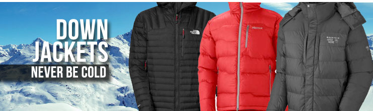 Down Jackets - North Face Jackets, Marmot, Burton & Patagonia Down ...