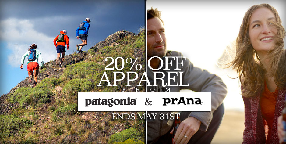 20 off prana patagonia sale