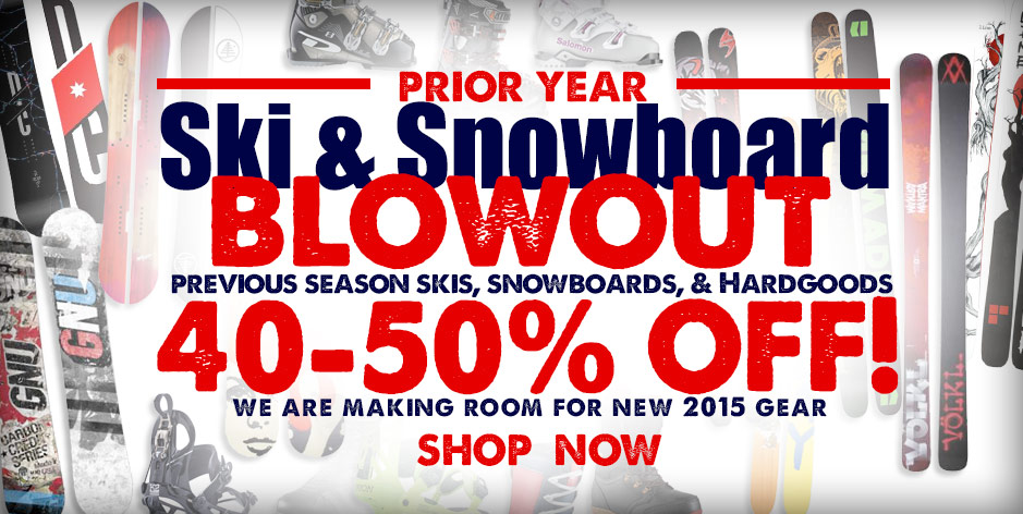 2014 Ski & Snowboard Blowout