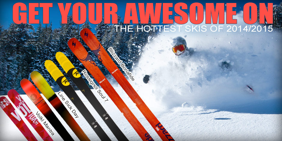 2015 Hottest Skis
