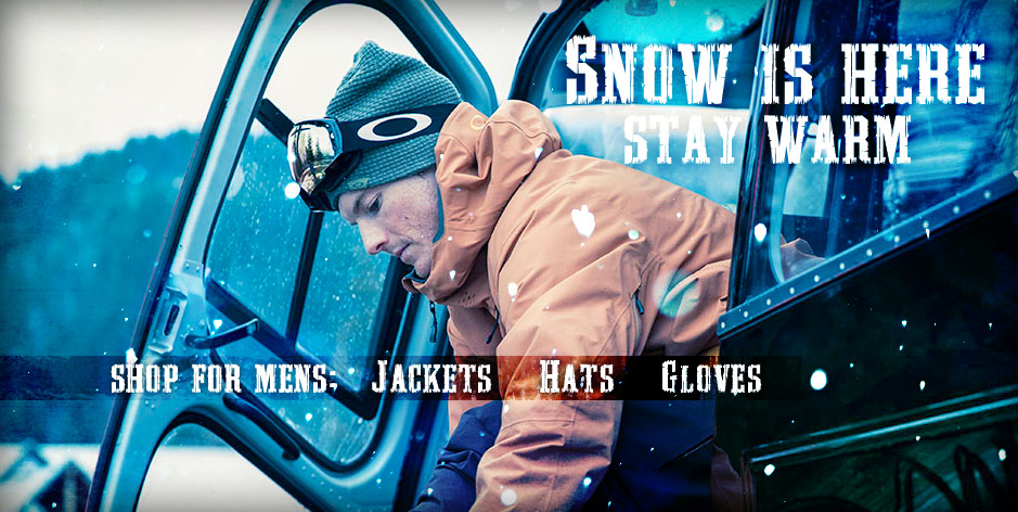 Mens Hats Gloves Jackets