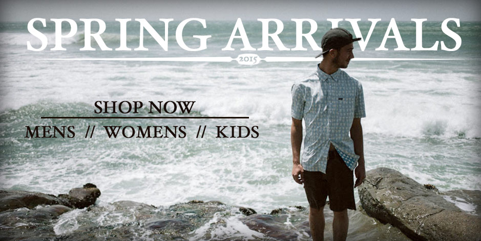New Spring arrivals 2015