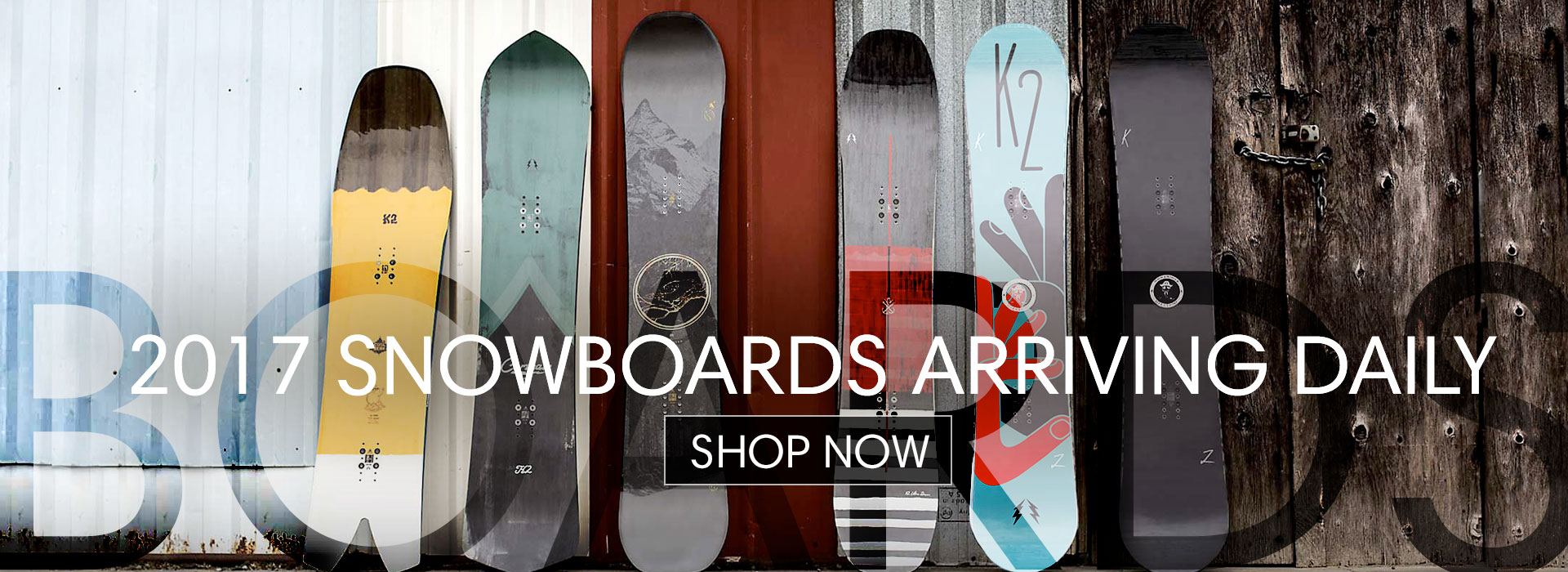 2017 Snowboards
