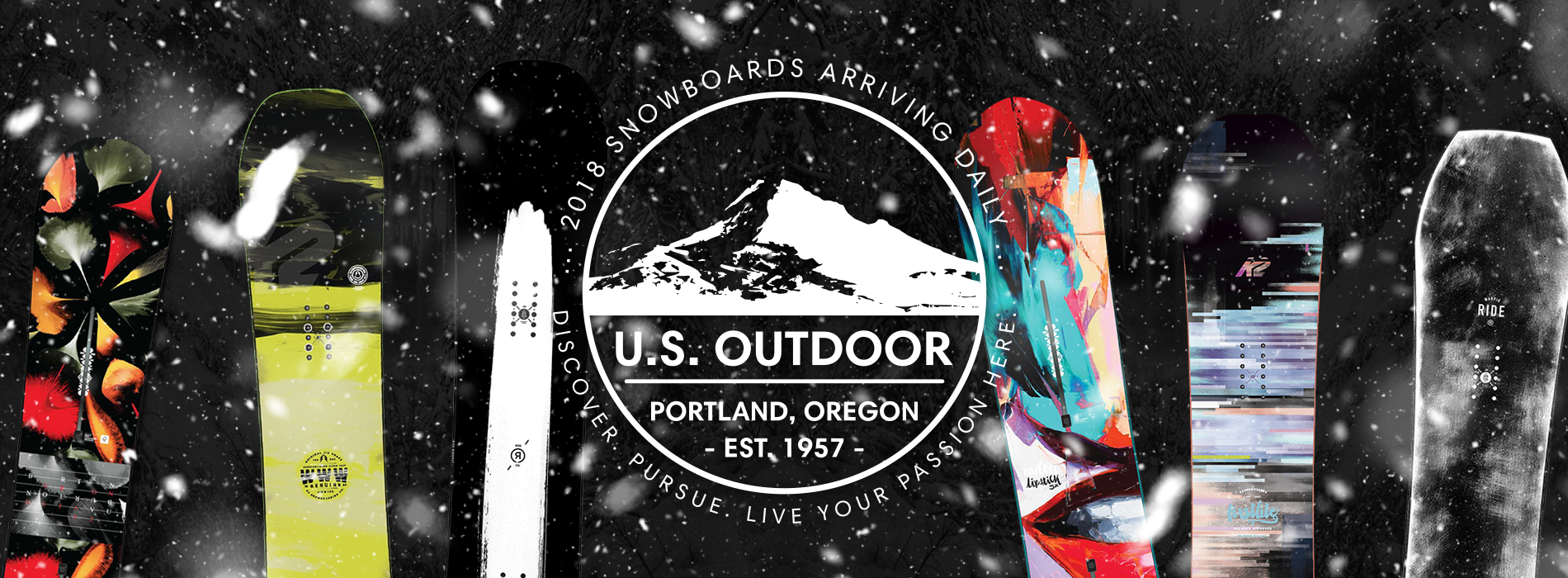 2018 Snowboards arriving daily