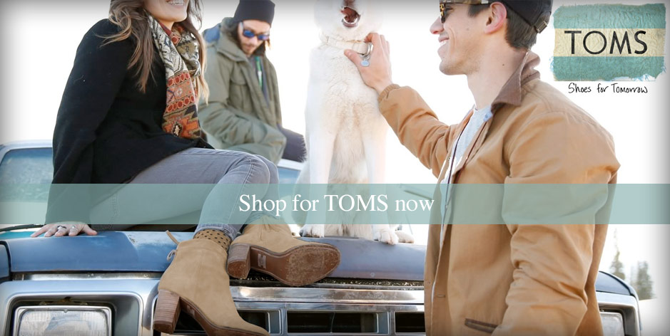 Toms Shoes fall 2015