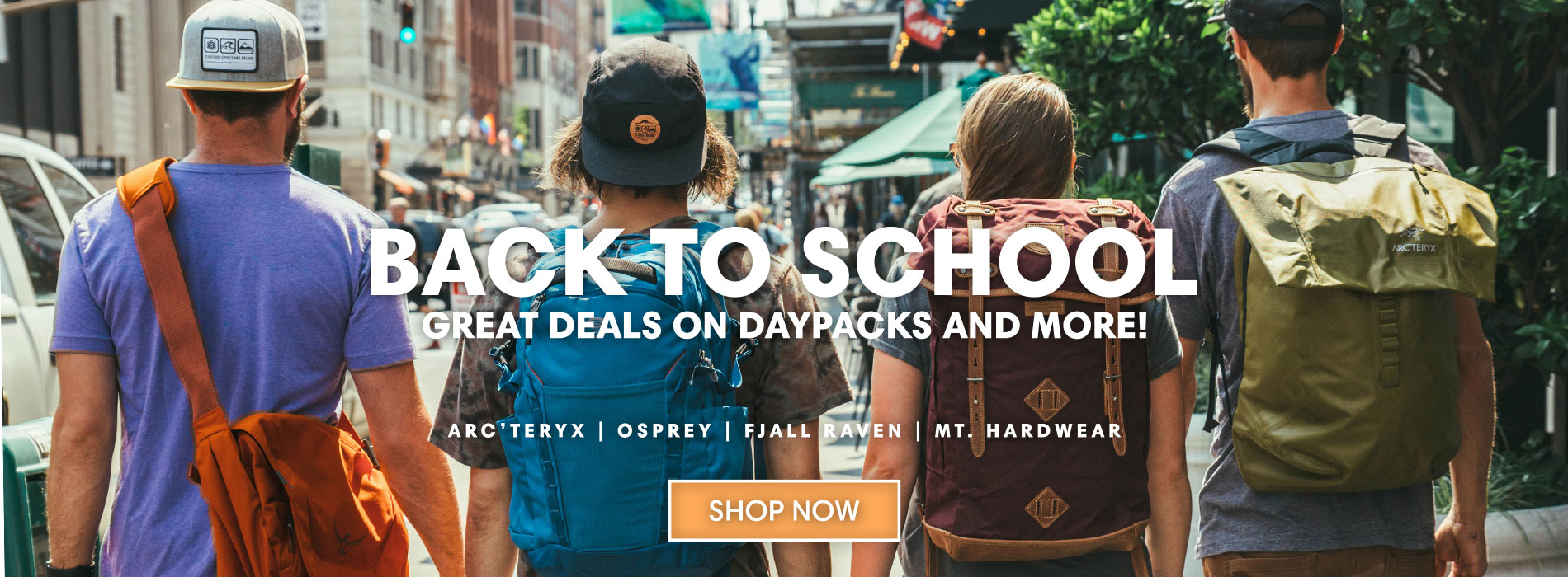 2017 Back To School Daypacks