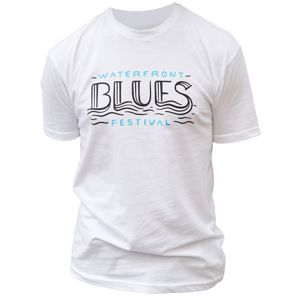 WATERFRONT BLUES FESTIVAL 2018 LINE-UP TEE SHIRT