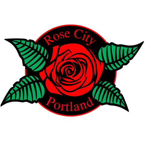 EXCLUSIVE PORTLAND ROSE PIN