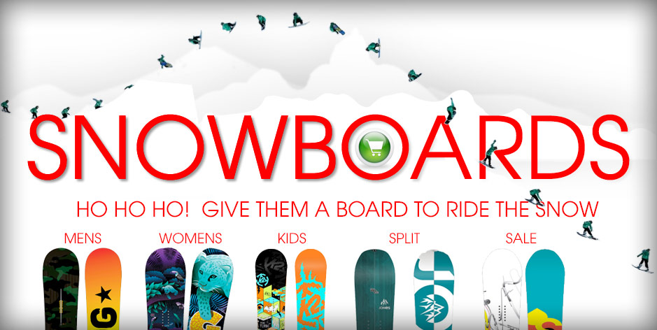 2015 holiday Snowboards