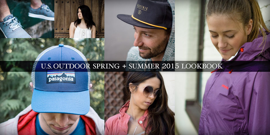 USOutdoor Look Book Spring Summer