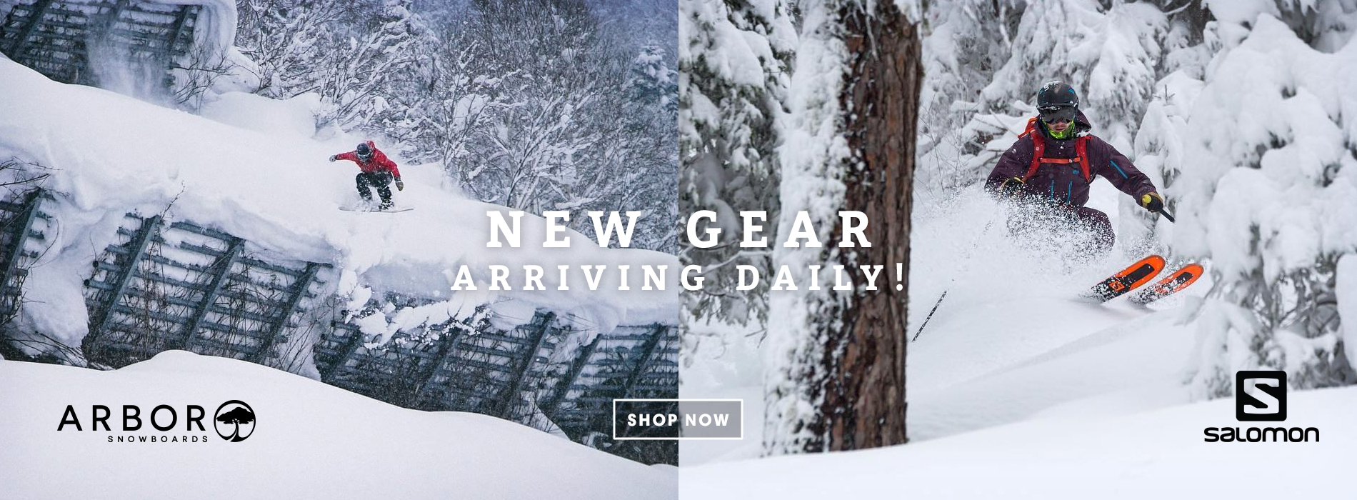 New Ski and Snowboard Arrivals