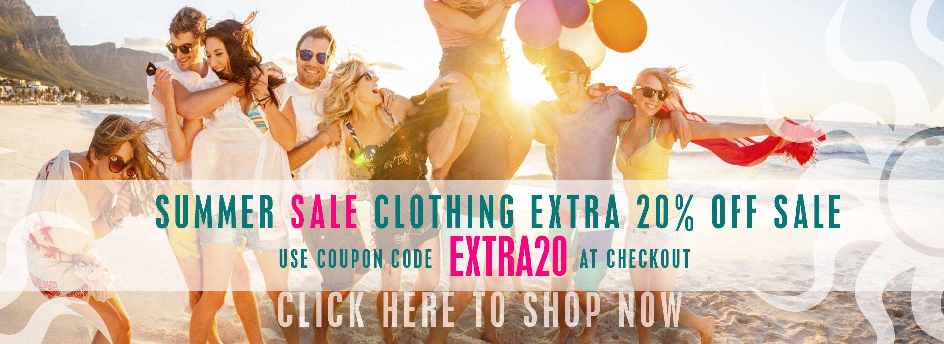Summer Sale Clothing Sale!