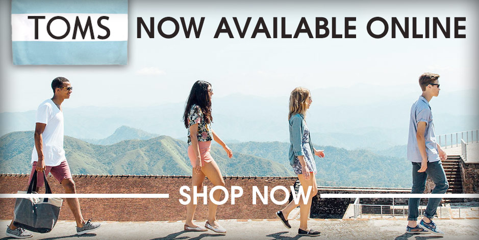 Toms Shoes Now Available